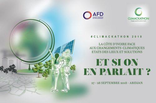 Article : Climackathon 2018 : on pense climat à Abidjan!
